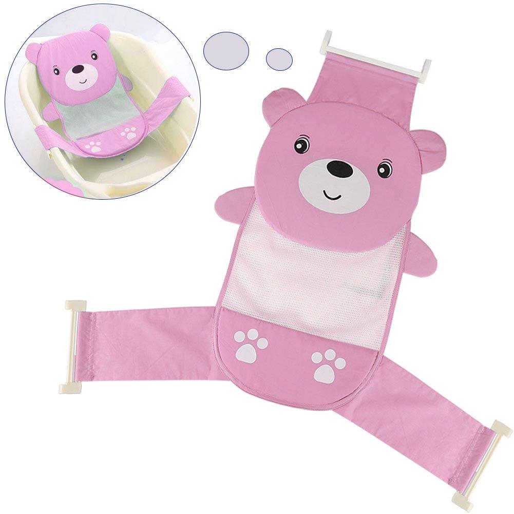 Amazon.com : Yosoo Adjustable Thicken Newborn Baby Bath Seat Support ...