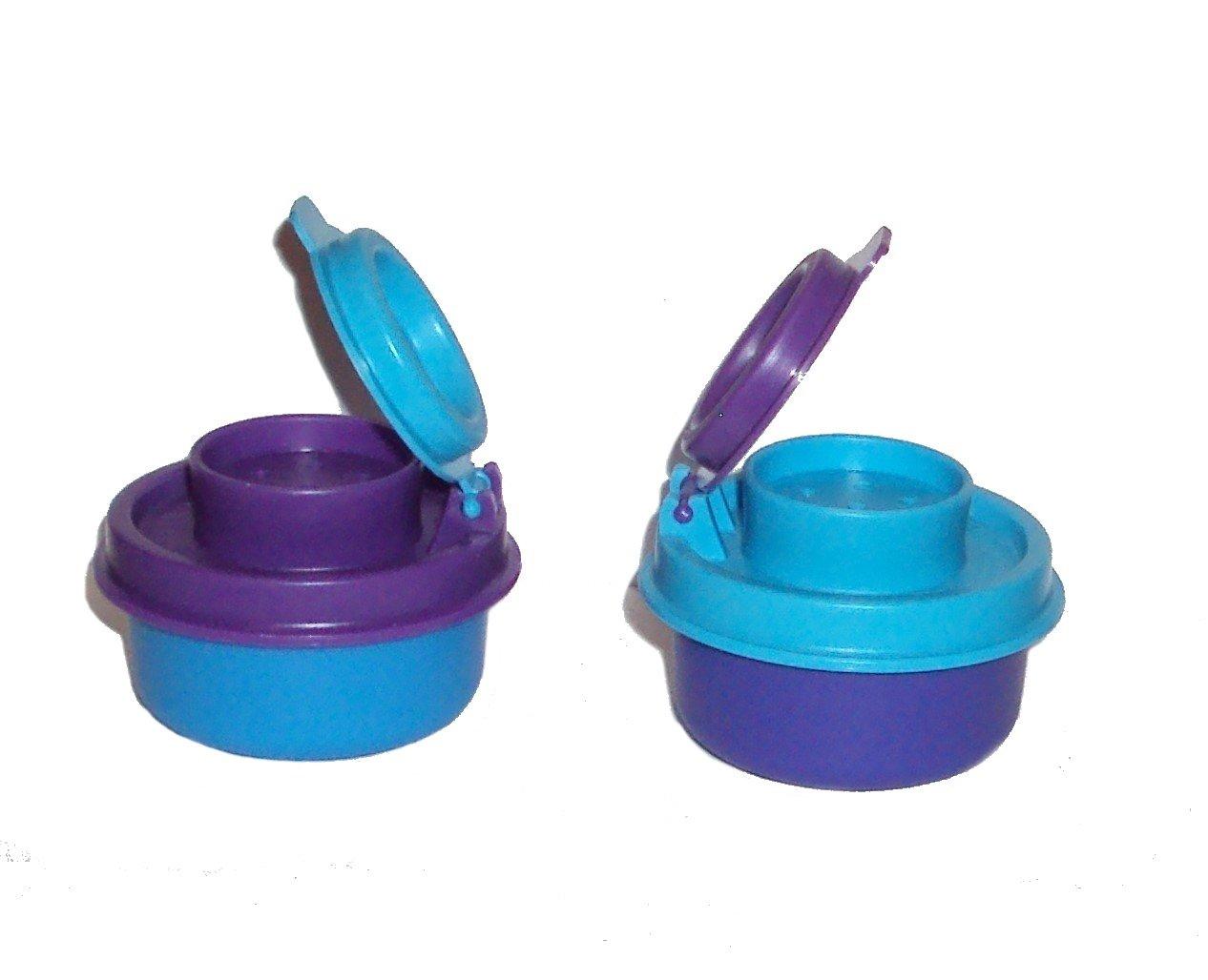 Tupperware Salt & Pepper Smidgets Shakers in Various Colors rdyuipklnm