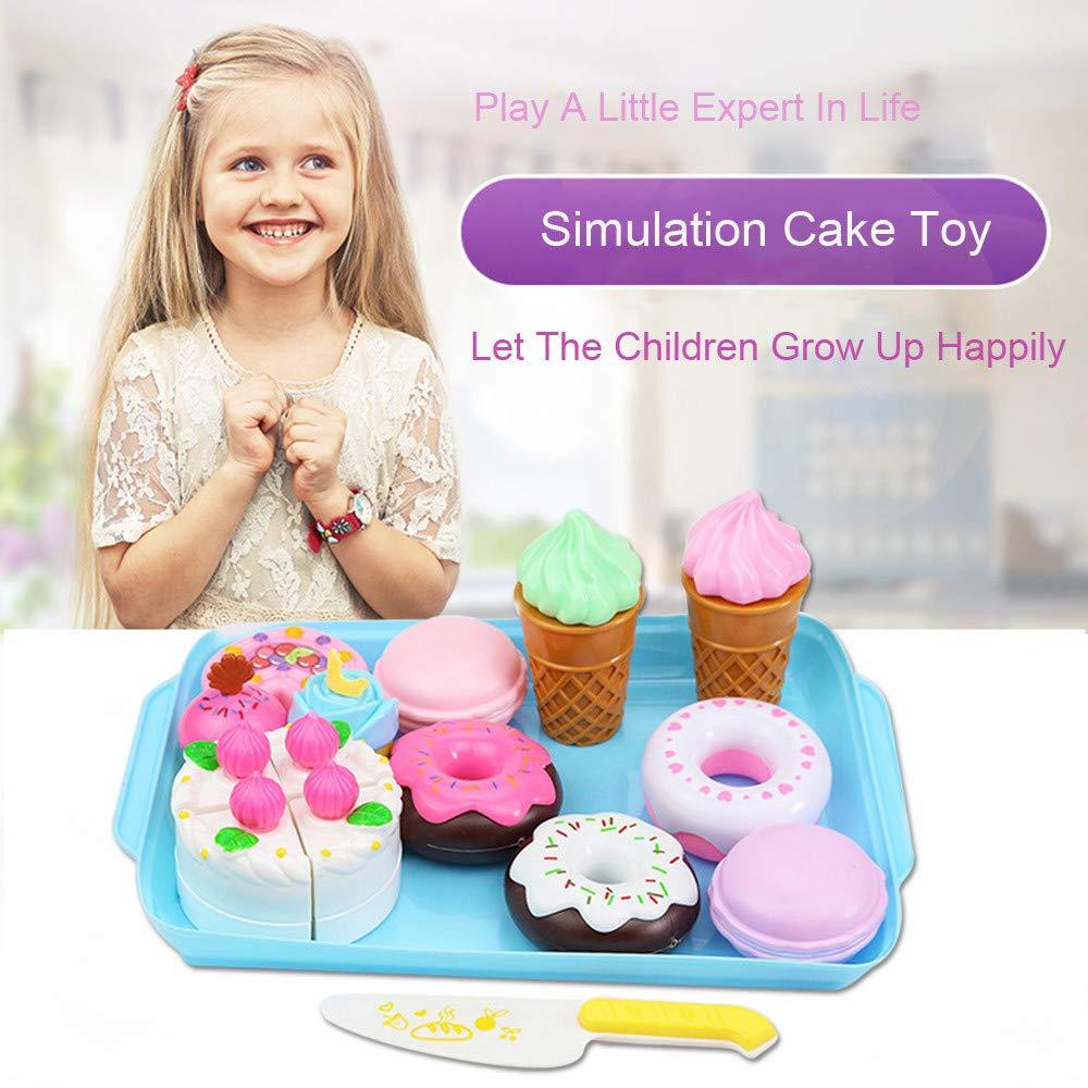 Bescita Pretend Spielzeug - DIY Nudeln Little Chef Edelstahl Geschirr Spielzeuge Kochgeschirr Kü che Spielzeug Kü che Spielzeug Tö pfe Pfannen Geschenk Pretend Toy