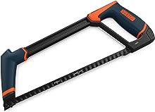 Presch Hacksaw 300mm Long - Metal Saw with Interchangeable Blade - Professional Hacksaw for Metal - Hack Saw, Metal Cutting Saw