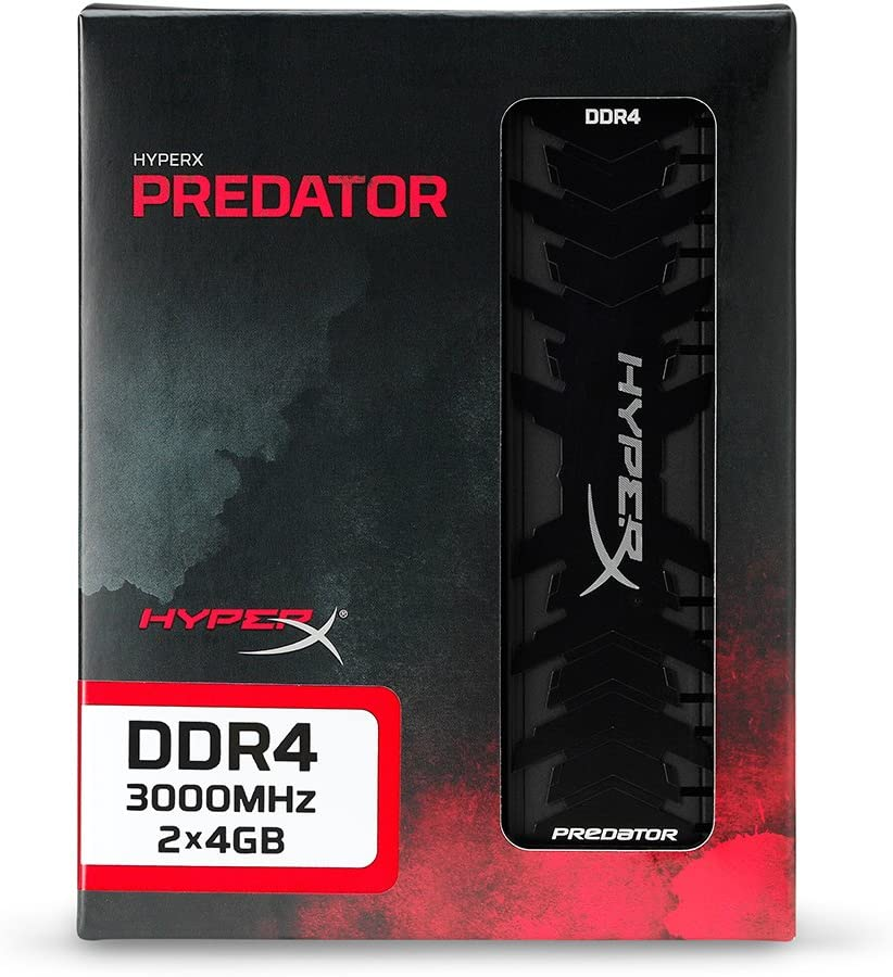 2 x 4 GB DDR4 CL15 DIMM HyperX Predator DDR4 HX430C15PB3K2//8 Kit 8 GB 3000 MHz