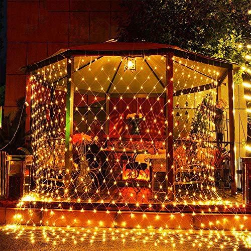 CITRA 300 LED Net Mesh Fairy String Light Still Effect Lighting 10×10 Foot for Diwali Decoration Backdrop Garden Tree…