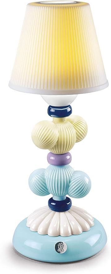 LLADRÓ Lámpara De Mesa Firefly Cactus. Amarillo Y Azul. Lámpara de Porcelana.: Amazon.es: Juguetes y juegos