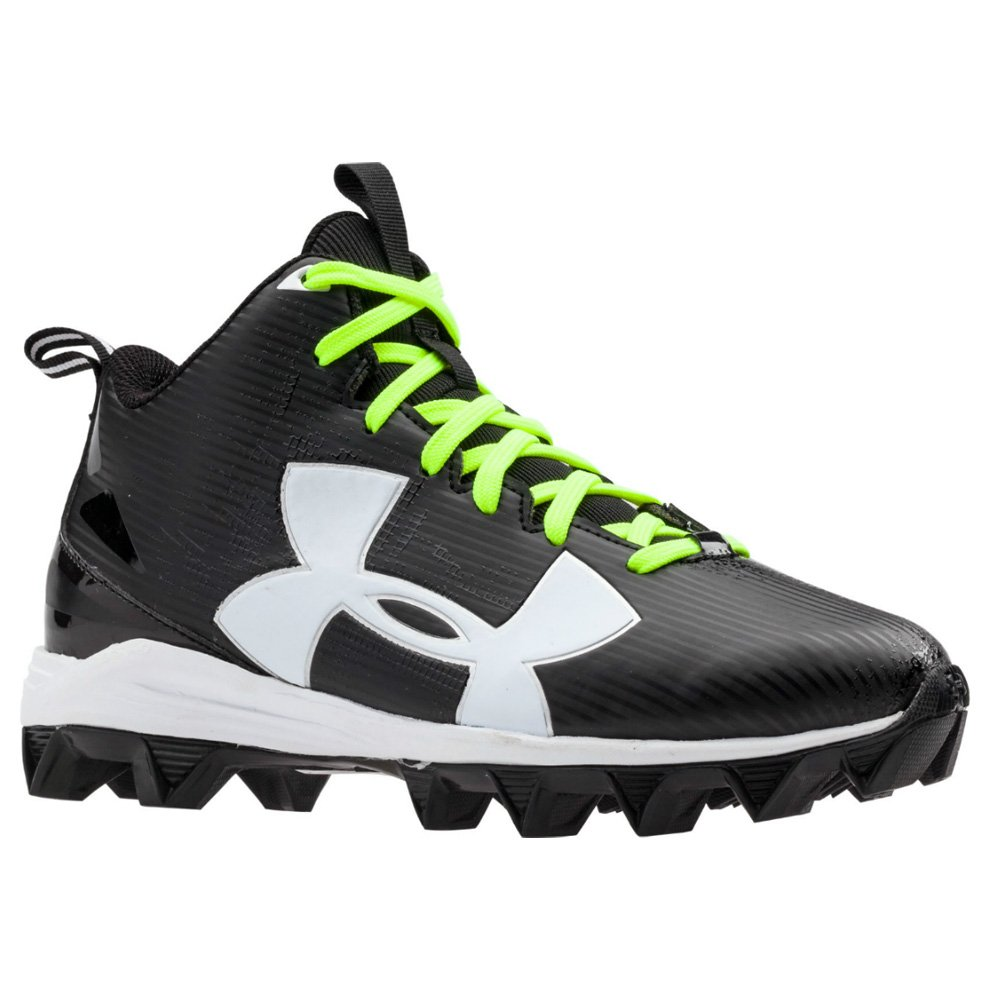 Under Armour Crusher Rm Jr Black/White 10 by Under Armour