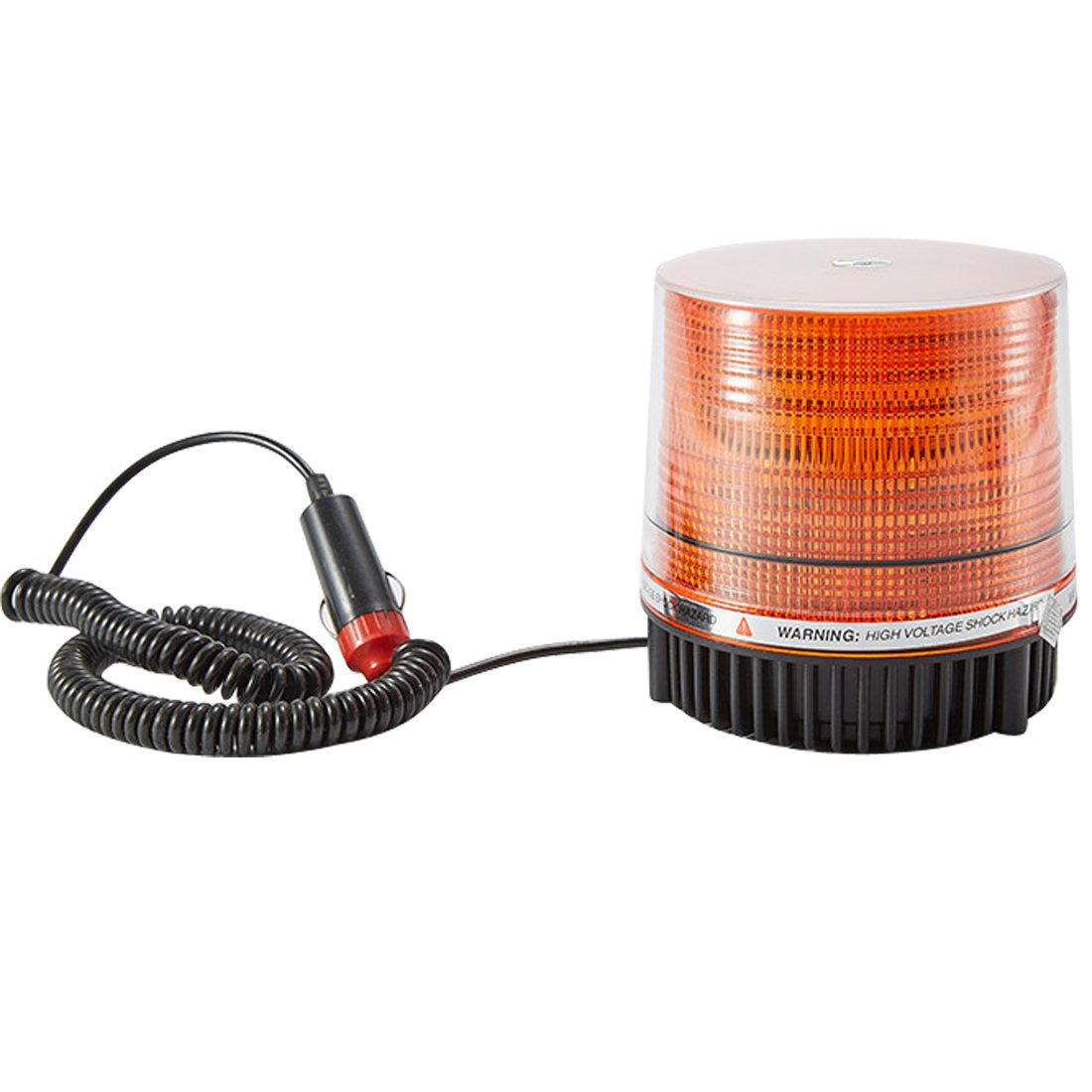 Penfly 8w LED Warning Strobe Light Car Truck Boat Forklift Projector Magnet Mount Security Signal Night Lamp Yellow/Amber Color DC12v