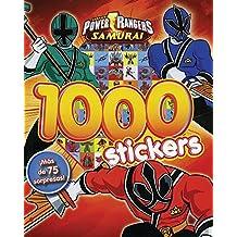 1000 Stickers power rangers samurai