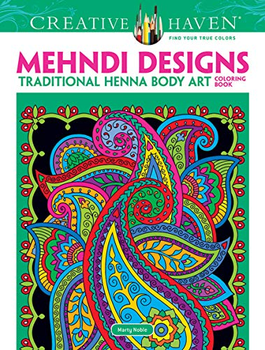 Dover Creative Haven Mehndi Designs Coloring Book (Creative Haven Coloring Books) - Free Butterfly Quilt Patterns