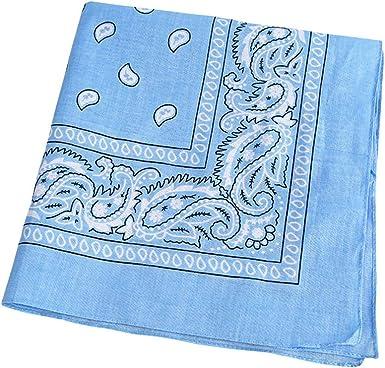FENICAL Pañuelo de algodón estampado con pañuelo que absorbe el ...