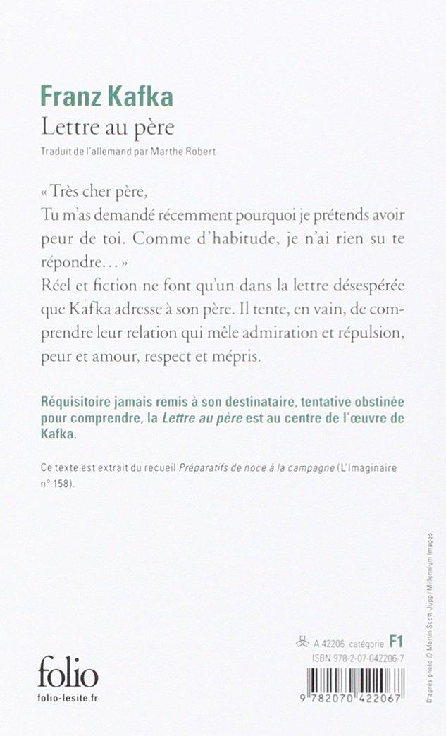 kafka lettre au père Amazon.fr   Lettre au père   Franz Kafka   Livres kafka lettre au père