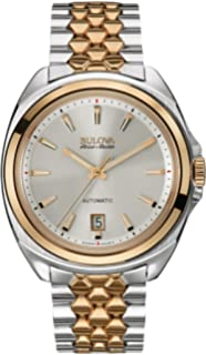 Bulova Accu Swiss 65B159 Mens Accu Swiss Two Tone Steel Bracelet Watch