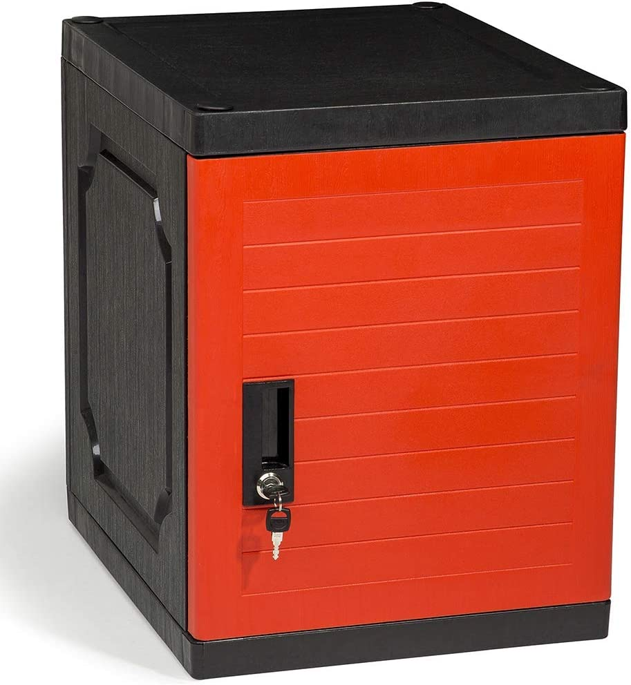 "Jink Locker, Lockable Storage Cabinet 19"" with Keys 