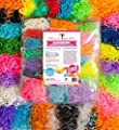 MEGA Rainbow Braid Loom Refill Set - Independently US Lab Tested Free of Lead & Phthalates