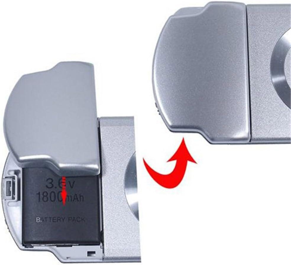 1200mAH BLACK Battery Back Cover Case for PSP 2000