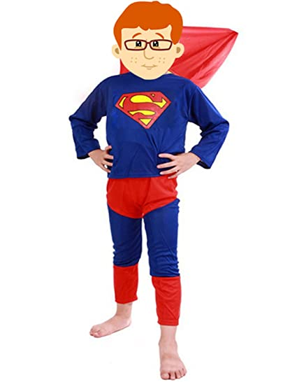 Famous Superman Kids Costume Wear for 2-3 years (Size 22)  sc 1 st  Amazon.in & Buy Famous Superman Kids Costume Wear for 2-3 years (Size 22) Online ...