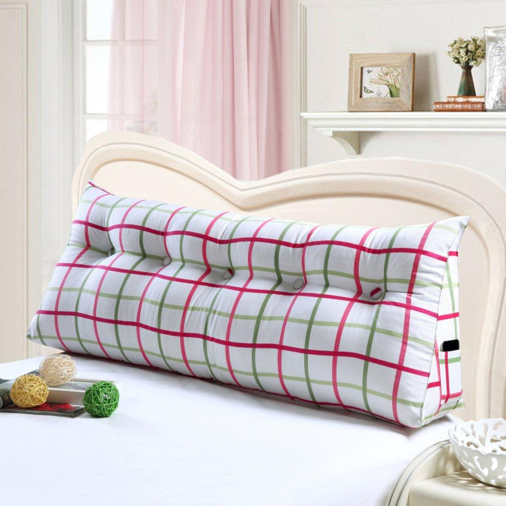DXG&FX das das das dreieck Kissen Tatami Kissen doppel-Kopf-Kissen Grosse Kissen auf dem Bett Bett erholung abnehmbare rückenlehne-H 100x20x50cm(39x8x20inch) B07F631PGZ Zierkissen 168844