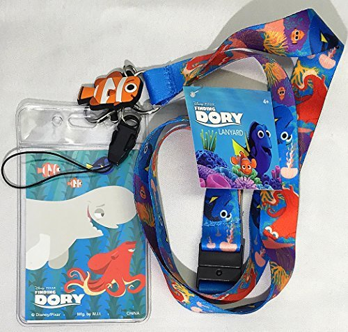 Disney Finding Dory (Finding Dory) Nemo (Nemo) Lanyard with Screen Cleaner Dangle (name tag neck cord) [parallel import (Screen Finding)