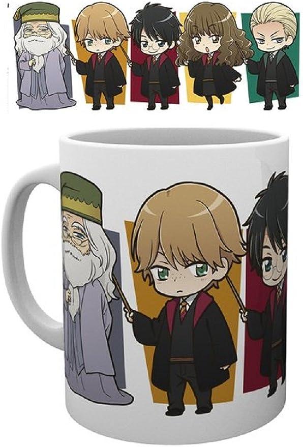 Harry Potter Kawaii - Taza de cerámica (320 ml): Amazon.es ...