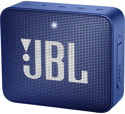 Alto-falante Bluetooth ultra portátil impermeável JBL GO2, Azul