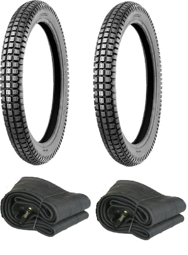 Full Set of Honda CT110 or CT90 TRAIL MASSFX Tires and Tubes 1 Front tire 1 Rear tire 2 new tubes