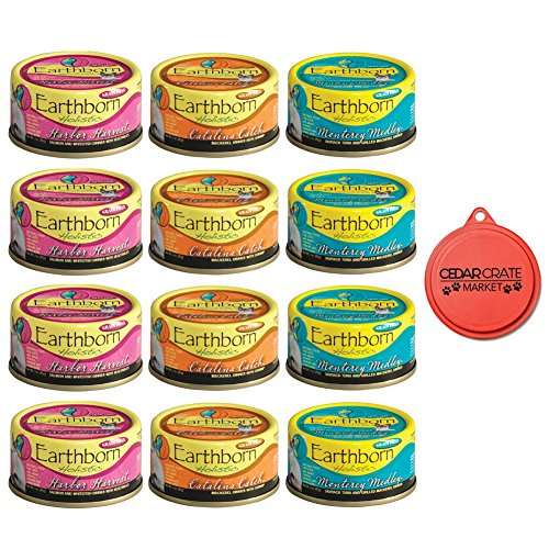 Earthborn Holistic Wet Cat Food Variety Pack - 3 Flavors  -