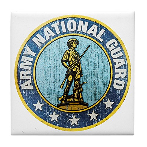 Tile Coaster (Set 4) Army National Guard Emblem