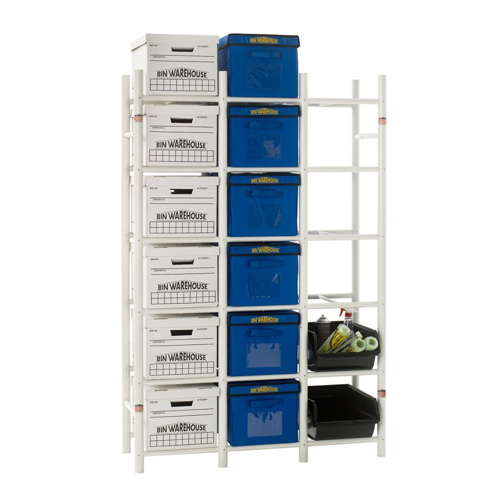 amazon com bin warehouse storage systems dfae2mbfbw0618 box storage rh amazon com Paper Storage Shelves File Box Storage Rack System