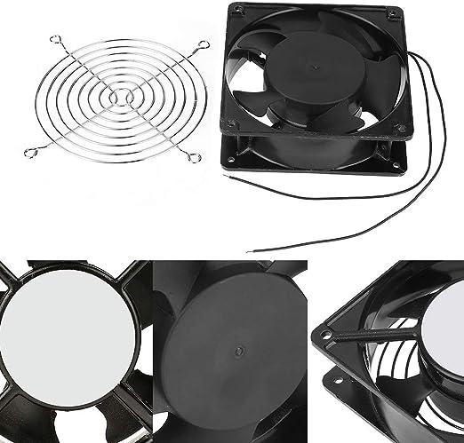 HEEPDD Ventilador de incubación, Incubadora portátil Ventilador de enfriamiento Ventilación de Aire Accesorios para máquinas de incubadoras pequeñas AC 220-240V ...