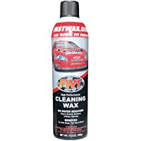 FW1 Waterless Car Wash & Wax with Carnauba for Multiple Surfaces - Cleaning Wax Ultra Shine Spray Fast Cleaner - No…