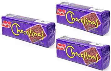 Chocolinas Galletas De Chocolate 3 Pack