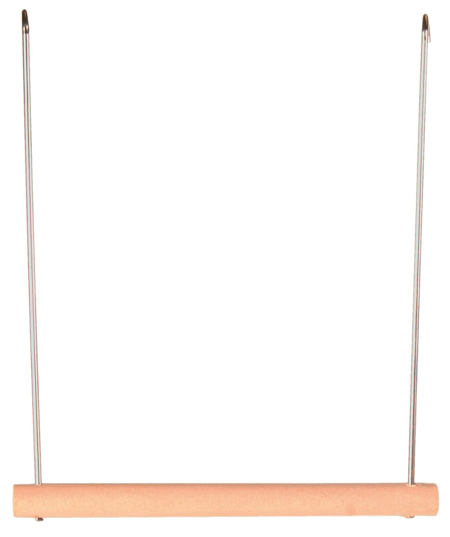 Balançoire bois, 12 × 13 cm pour oiseau Trixie Heimtierbedarf 4011905058214