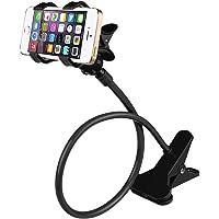 DMG Rotating Flexible Long Arm Mobile Phone Holder Stand (Black)
