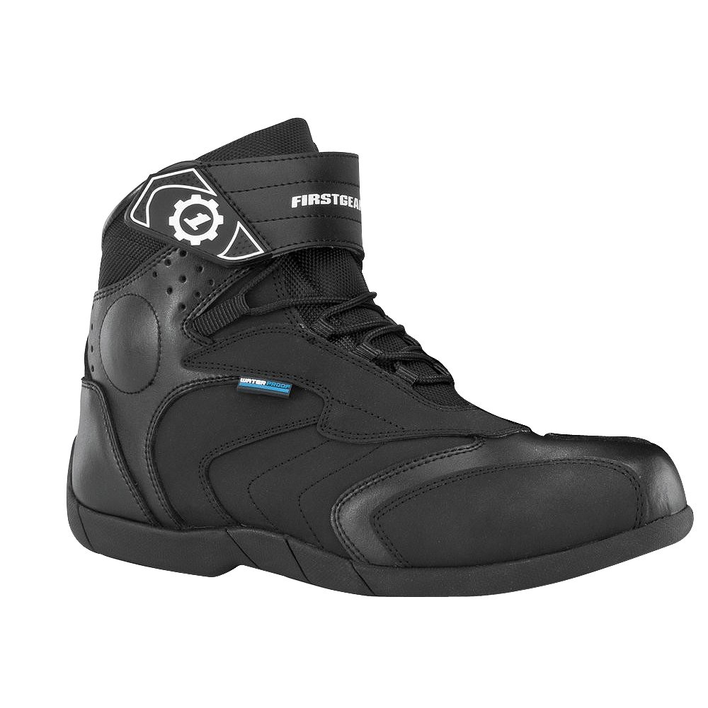 Firstgear Kili Lo Men's Motorcycle Boots (Black, Size 13) B008QW9A50 Size 13
