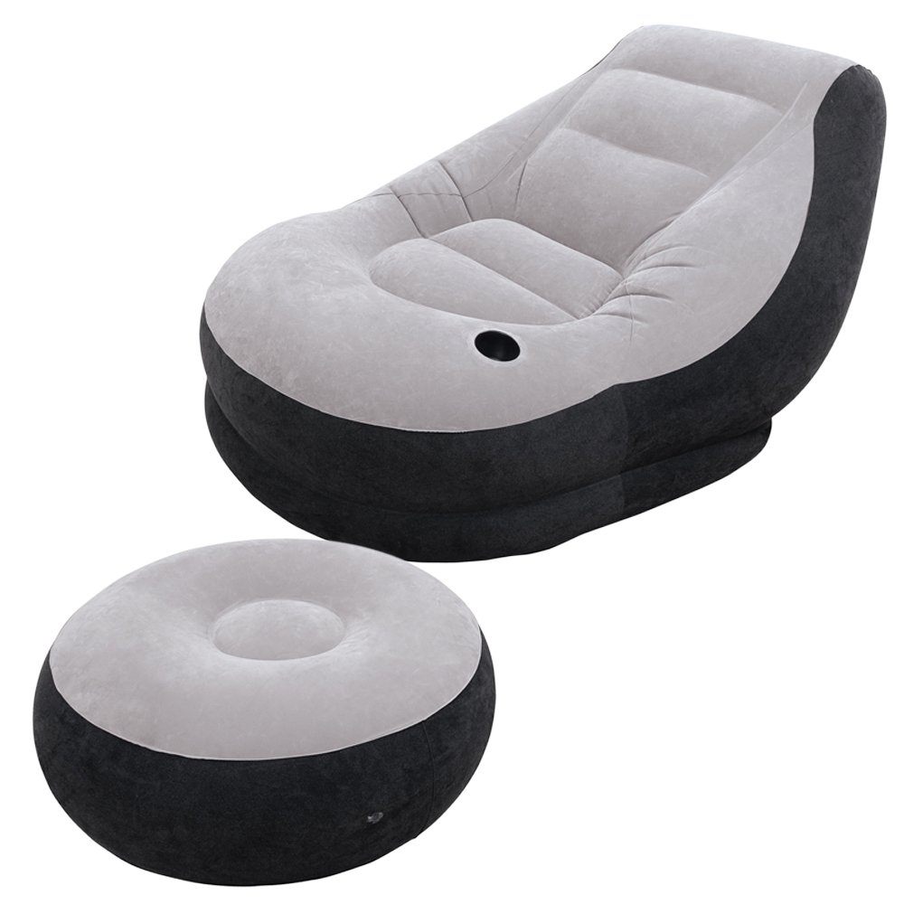 New Intex Inflatable Chair Seat Sofa Camping Comfy Blow Up