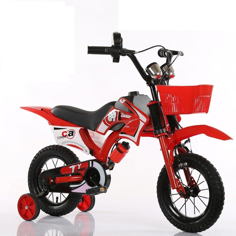 2-8歳の子供サイクリング、子供用自転車、12/14インチ/ 16インチ18インチの男性ベビーカー ( 色 : 赤 , サイズ さいず : 100*75cm ) B078KKLL7H 100*75cm|赤 赤 100*75cm