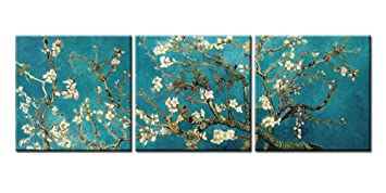 Canvas Print Wall Art Painting For Home Decor Vincent Van GoghS Branches Of An Almond
