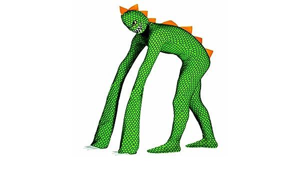 NET TOYS Traje Morphsuit Reptil Disfraz Lagarto L 52/54 Segunda ...