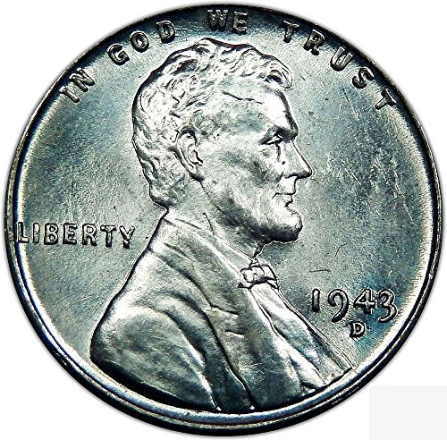 - 1943 D Lincoln, Wheat Ears Reverse Cent Seller Choice Uncirculated