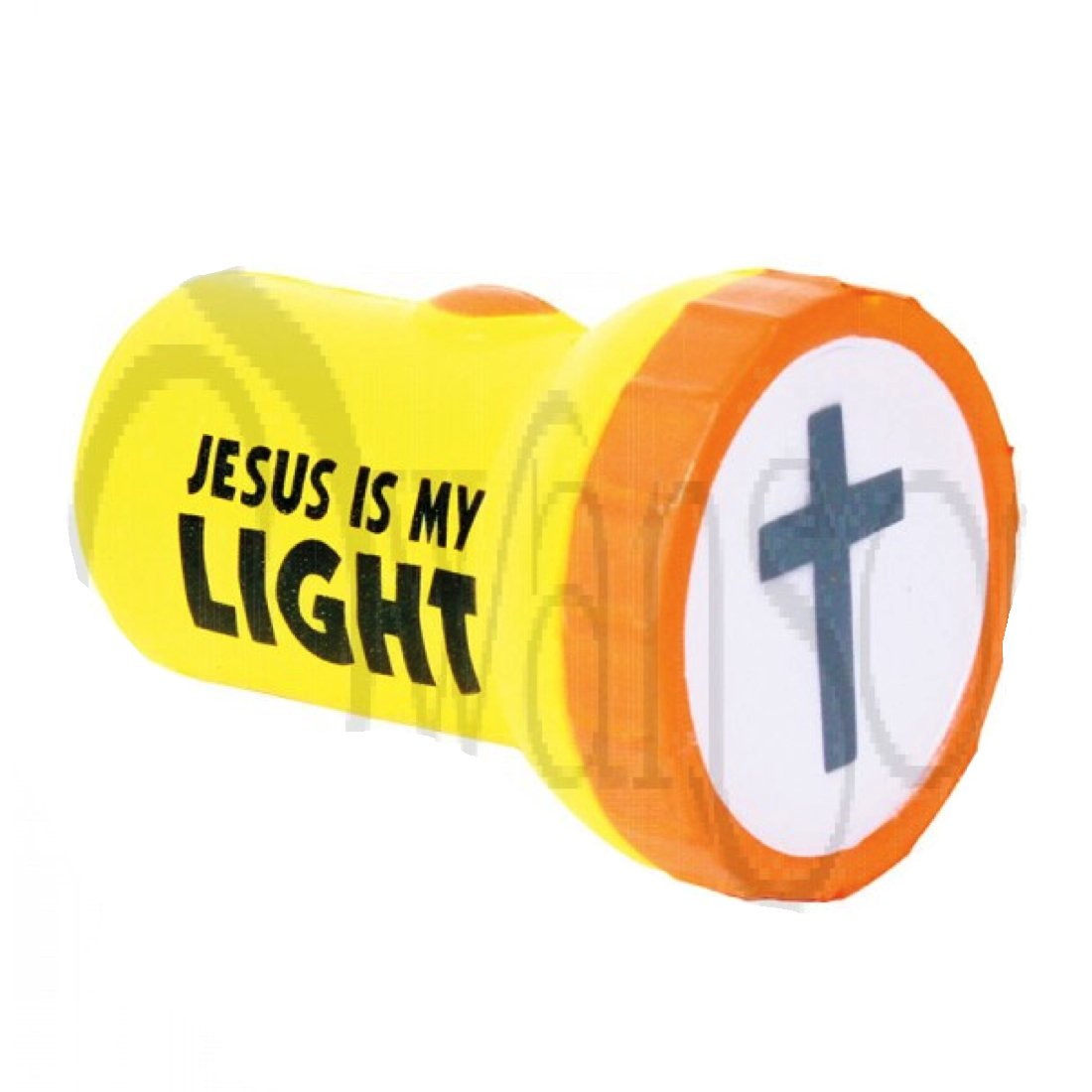 Jesus My Light Squeeze Toys Flashlight 12 Pack Christian Party Favors