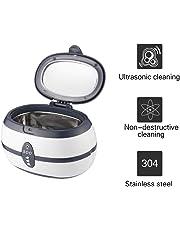 Ultrasonic Cleaner, YKS 600 ml di pulizia per gioielli Ultra Sonic Bath con cestello per la pulizia - Serbatoio in acciaio inox e timer digitale