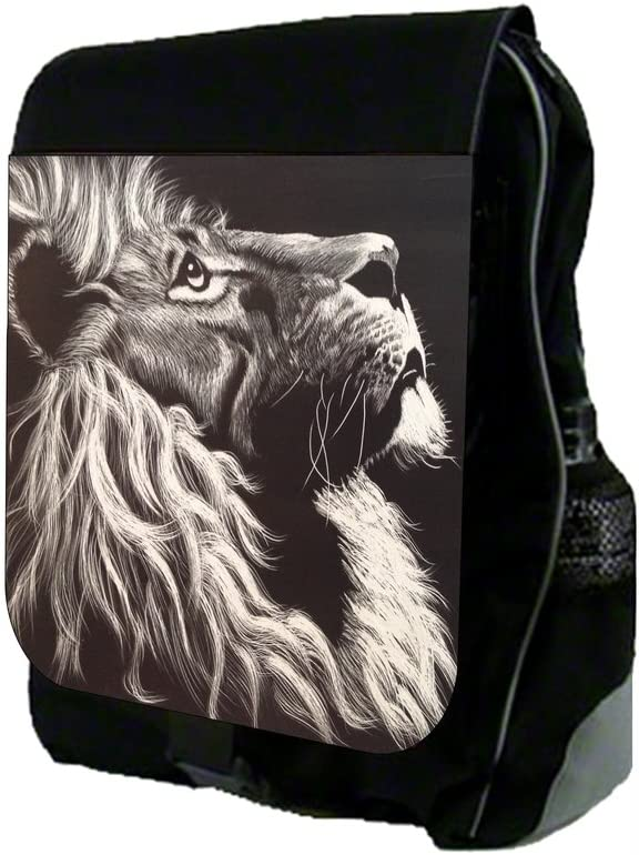 Lion School Backpack and Pencil Case Set