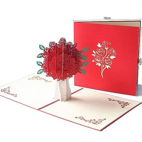 Tarjetas de felicitación 3D, Pop Up Card para la mayoría de ...