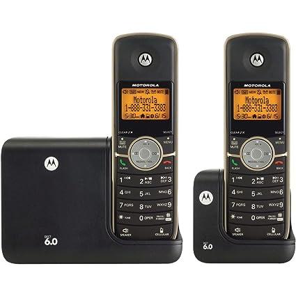 amazon com motorola dect 6 0 cordless phone with 2 handsets rh amazon com