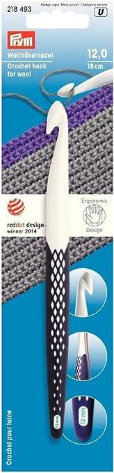 Prym ergonomics wollhäkelnadel set 7-12mm ermüdungsfreies ganchillos 218441