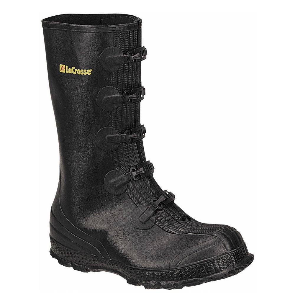 ラクロスMen 's Z Series Overshoe 14インチWork Boot B003FZZL0Q 9 D(M) US|ブラック ブラック 9 D(M) US