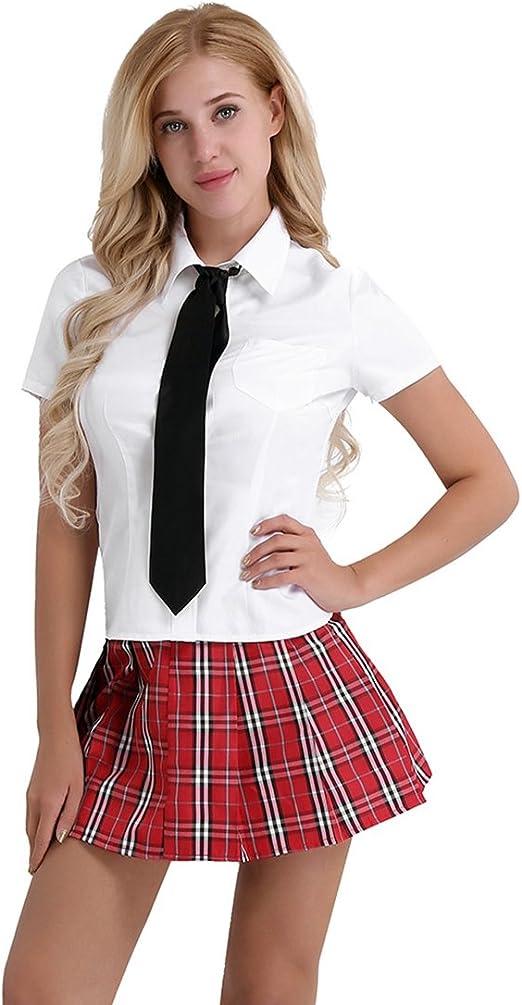 iiniim Sexy Disfraces Escuela de Mujer Ropa Erótica Picardias ...