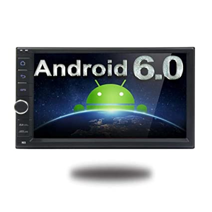 Quad Core 4 de 7 pulgadas 2 Din Android 6.0 est¨¦reo radio de