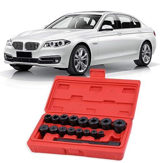Juego de herramientas de reparación de embrague para coche, 17 piezas, juego de herramientas universales de alineación de embrague para vehículo: Amazon.es: ...