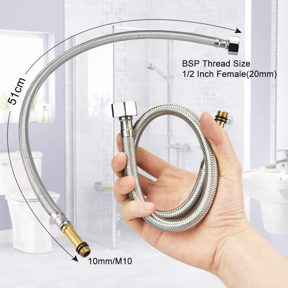 AFASOES Flexible de douche flexible pour robinet