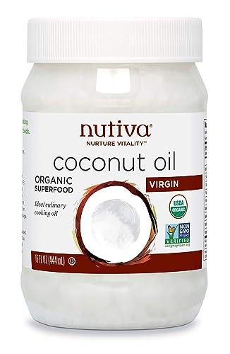 Nutiva Organiczny, nierafinowany, Virgin Coconut Oil