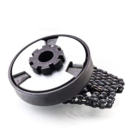 Centrifugal Clutch 3//4 Bore 10T for #40//41//420 Chain Compatible for Go Kart Minibike Lawnmower Fun Kart Engine 3//4 Bar